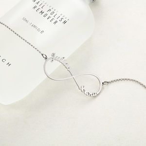 Jewelry - Infinite Love Personalized Infinity Necklace